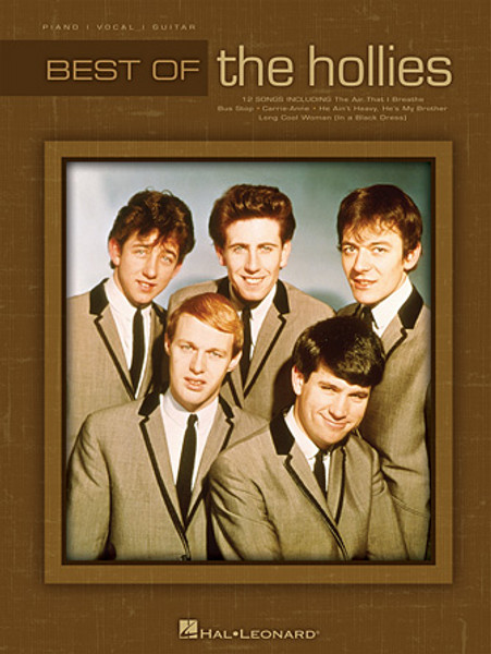 The Best of the the Hollies - Piano / Vocal / Guitar Songbook