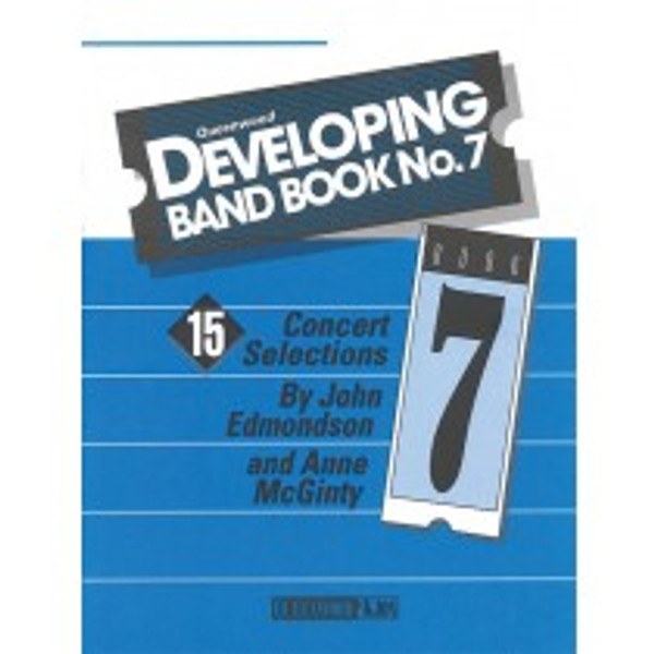 Queenwood Developing Band Book No. 7 - 1st Clarinet