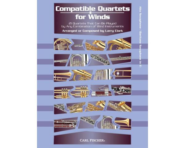 Compatible Quartets for Winds - Alto Sax/Baritone Sax