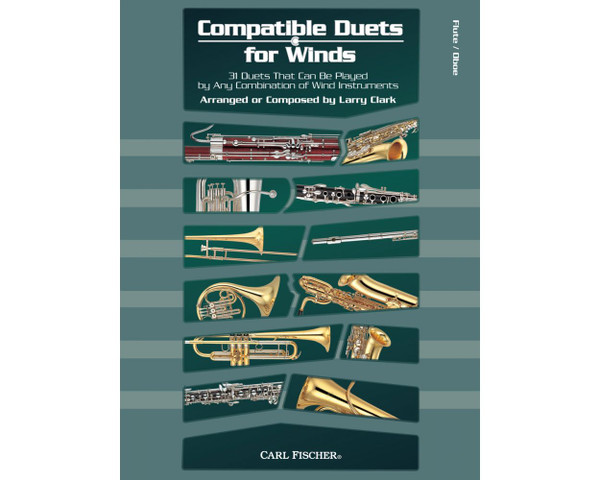 Compatible Duets for Winds - Flute/Oboe