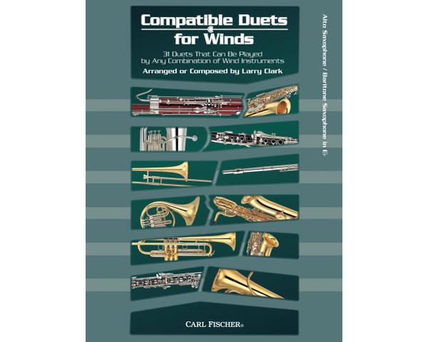 Compatible Duets for Winds - Alto Sax/Baritone Sax