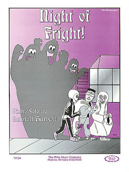 Night of Fright! - Mid-Elementary Piano Solo