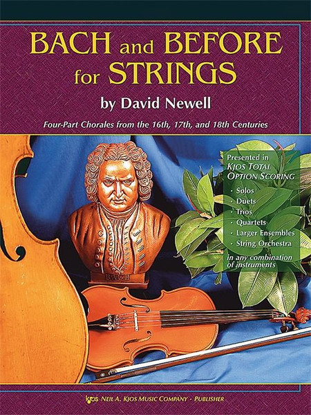Bach and Before for Strings - Conductor Score