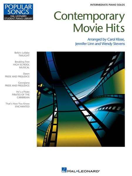 Contemporary Movie Hits for Intermediate Piano Solo