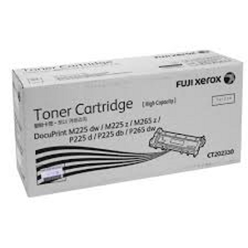 Fuji Xerox DocuPrint P225, P265, M225, M265 Black Toner Cartridge - 2,600 pages