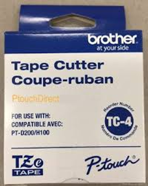 Brother TC4 Tape Cutter - PTH105, D200, E100