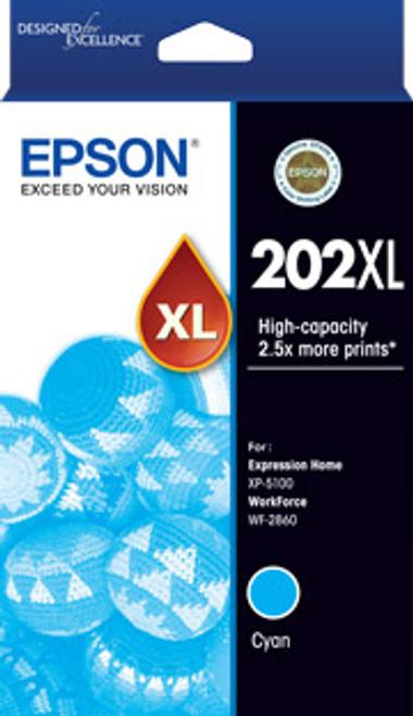 Epson 202 HY Cyan Ink Cartridge