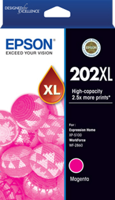 Epson 202 HY Magenta Ink Cartridge