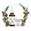 Christmas Gift package with CBD products for begginers