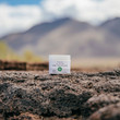 CBD sooting rub in the mountains