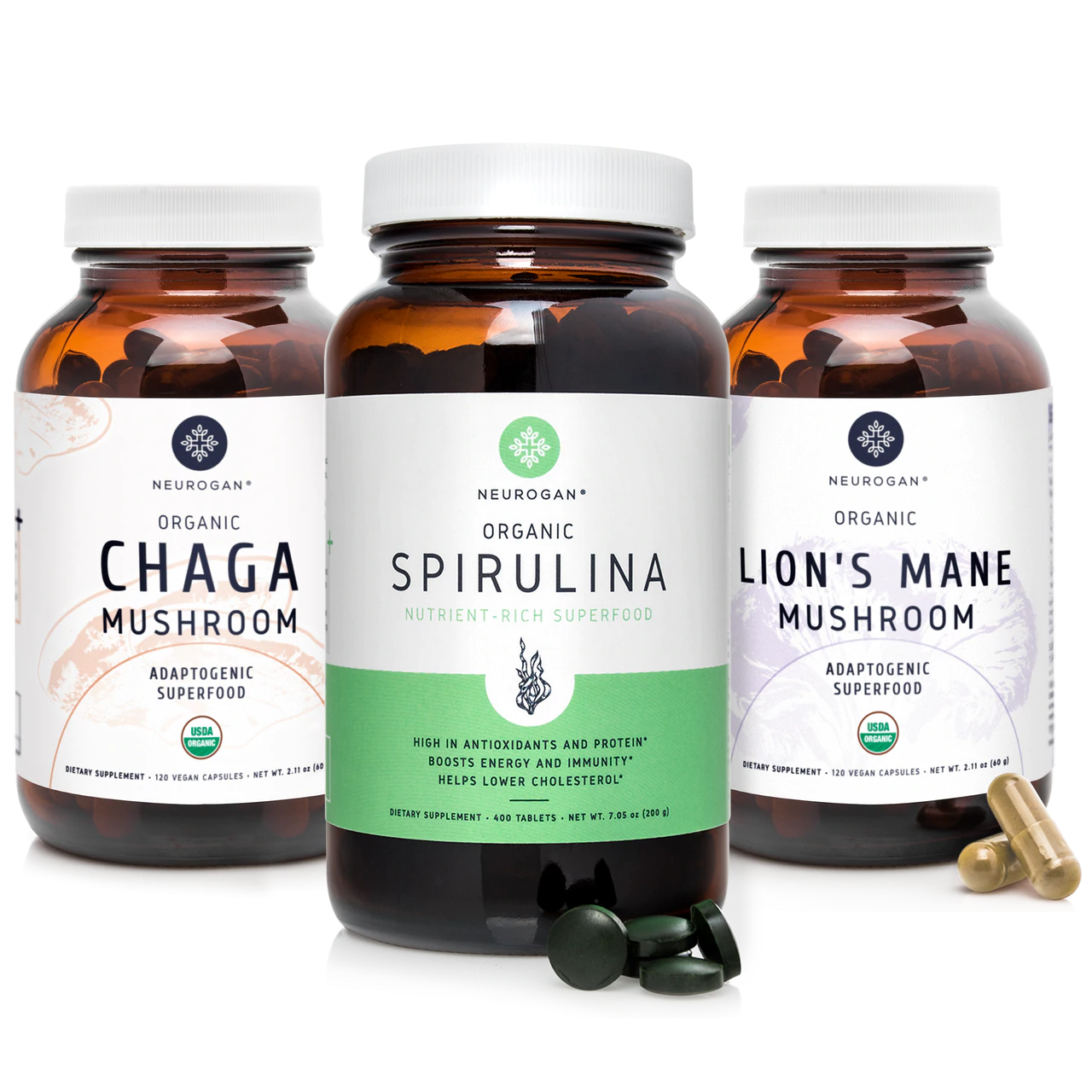 Superfood Capsules & Tablets