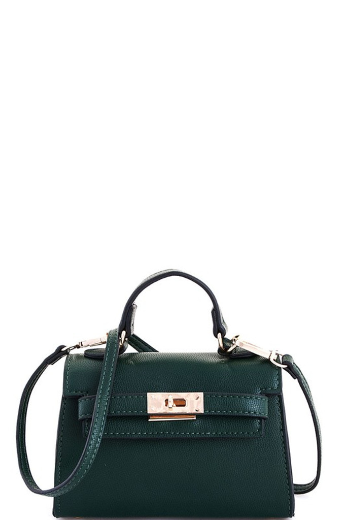 Carolyn Green Mini Satchel Bag