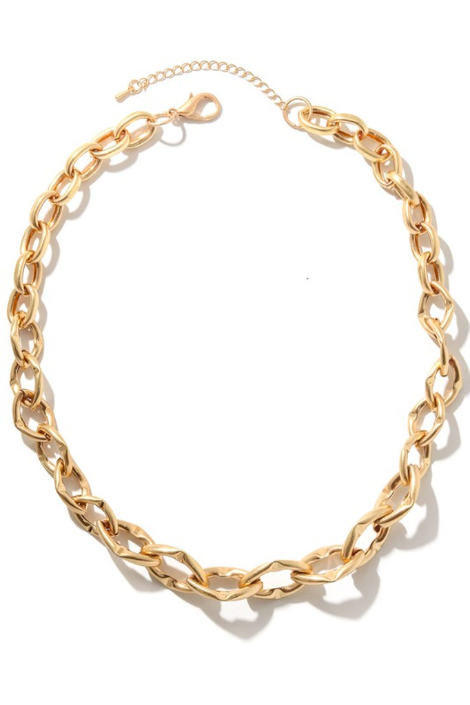 Kaylin Gold Chain Link Necklace