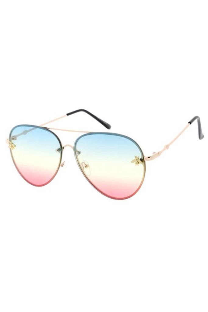 Suri Rainbow Bee Sunglasses