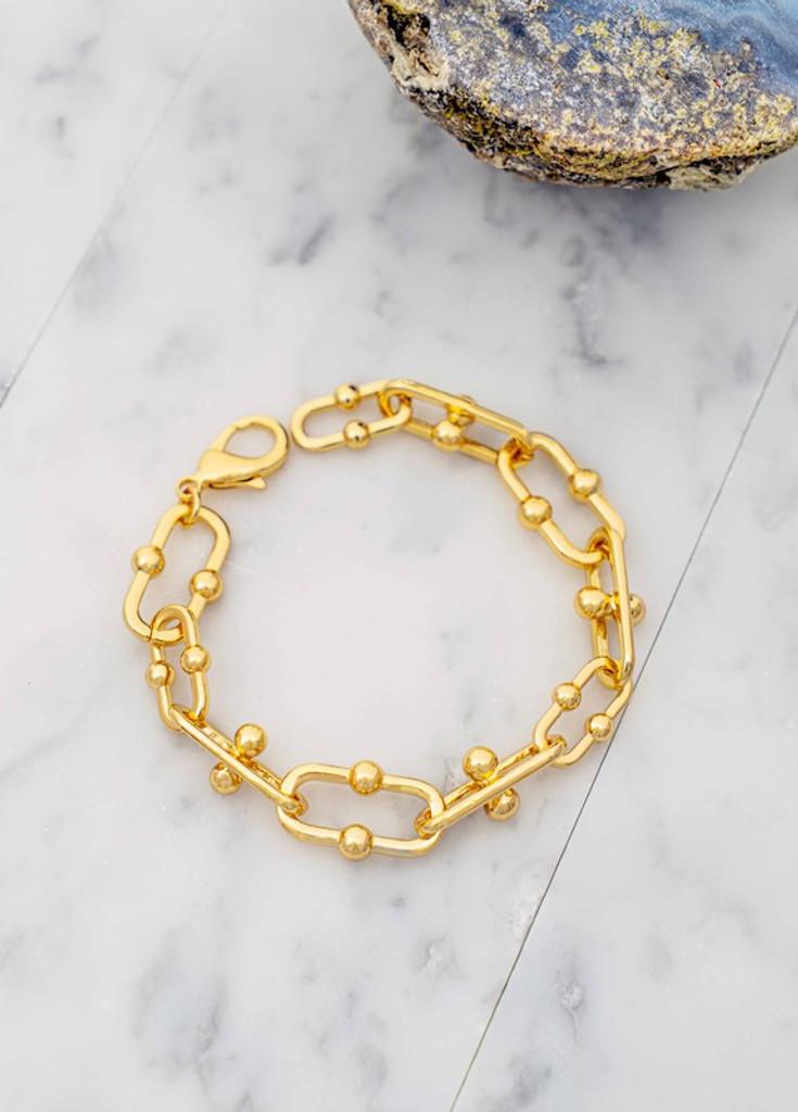 Danny Gold Chunky Bracelet