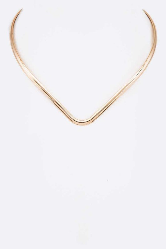 Tayla Gold Collar Necklace