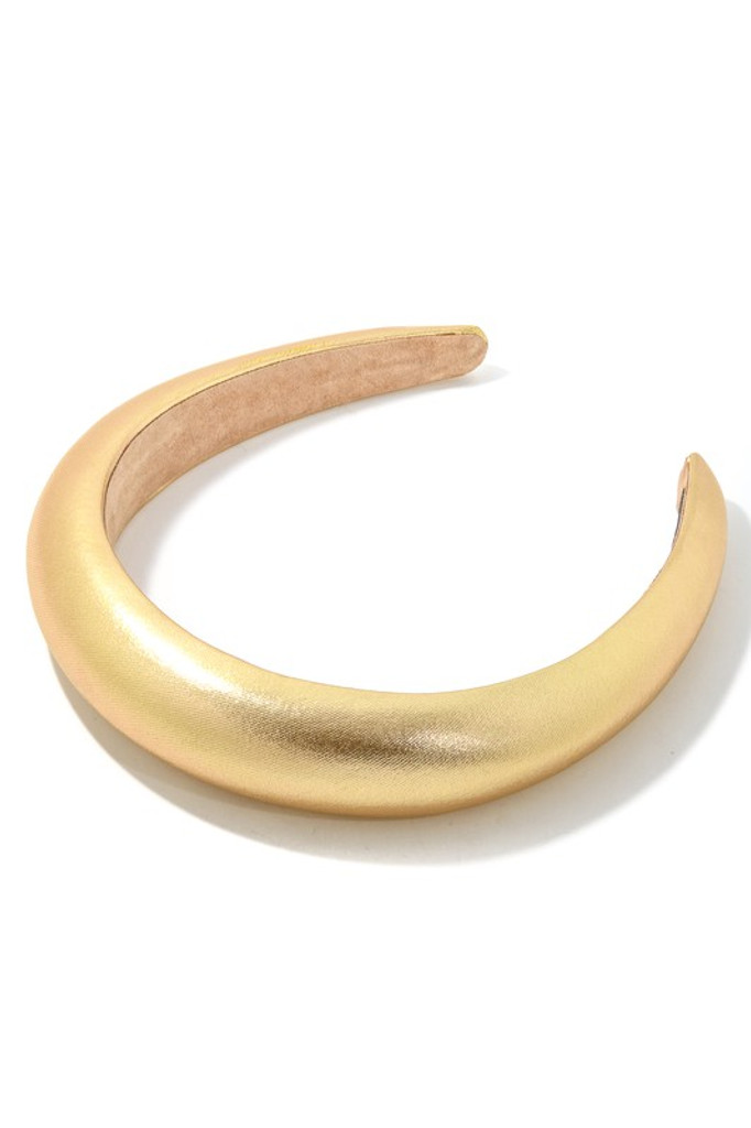 Gina Gold Dome Headband