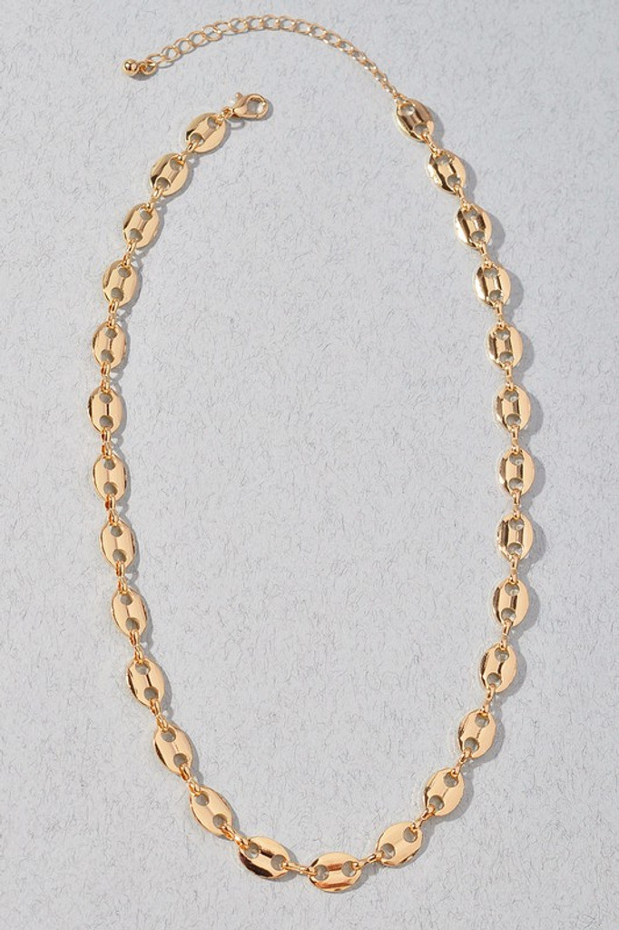 Karry Gold Chain Link Necklace