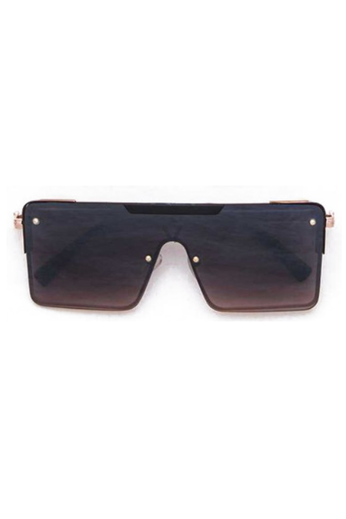 Gabe Black Square Sunglasses