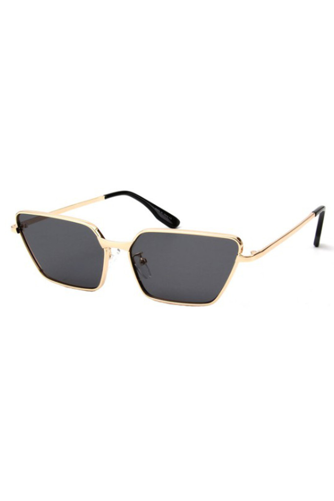 Bella Rectangle Cat Eye Sunglasses