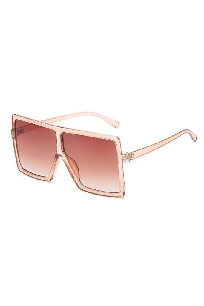 Mario Rose Oversize Sunglasses