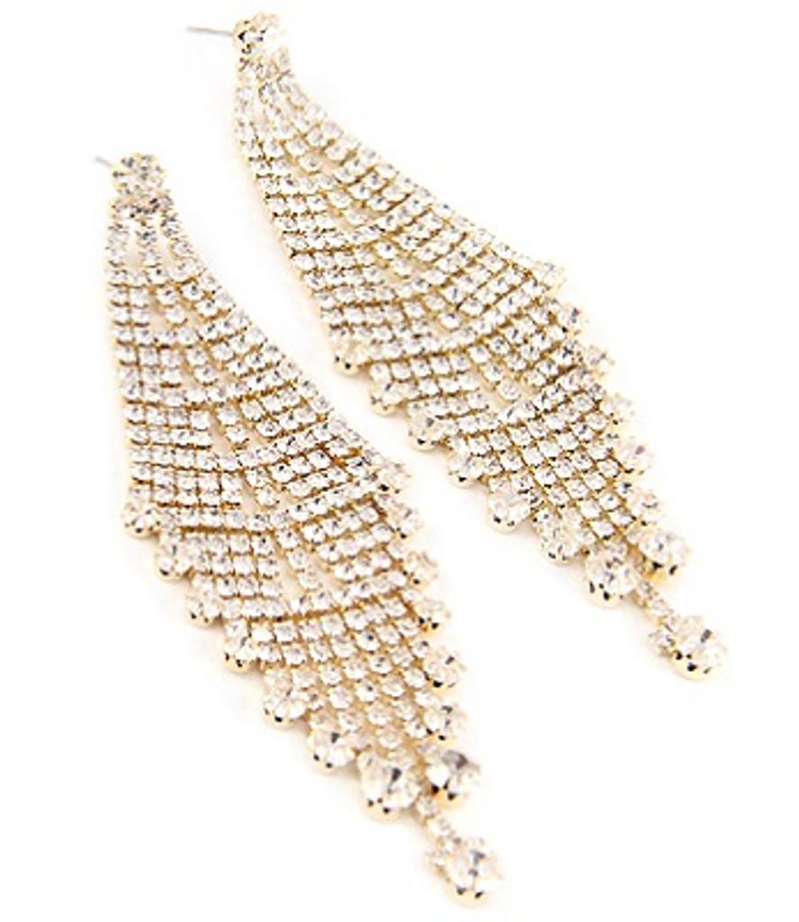 Zory Golden Drop Dangle Earrings