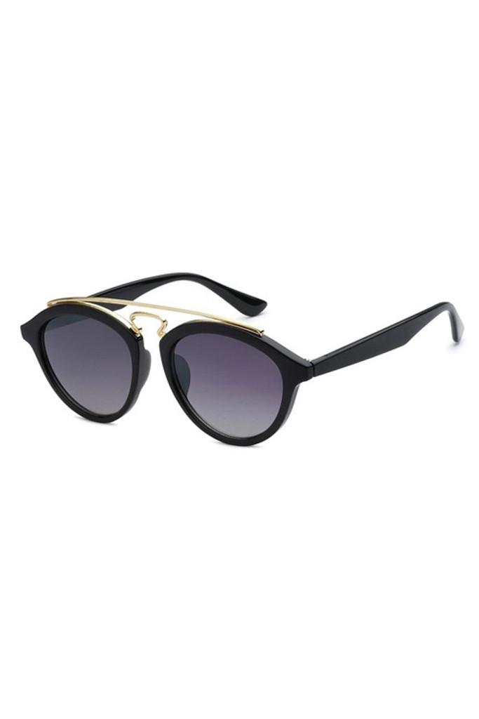 TBAR Black Gradient Lens Sunglasses