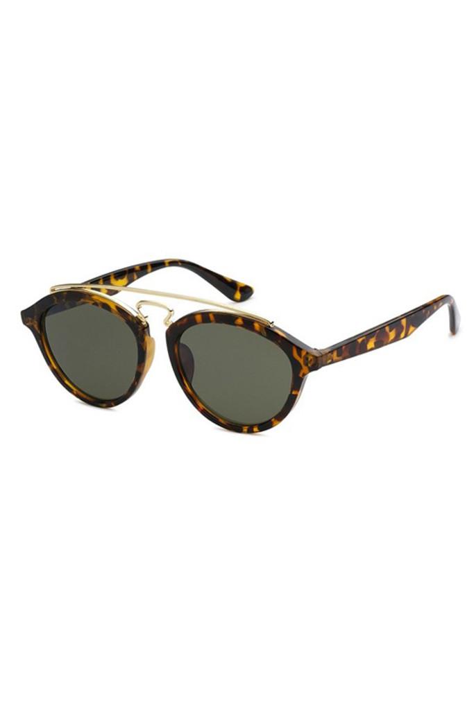 TBAR Tortoise Black Lens Sunglasses