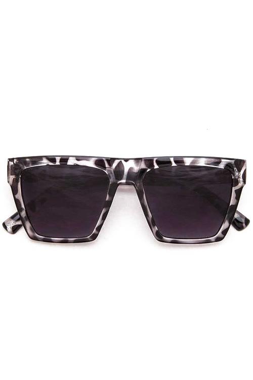 Sellie Grey Square Iconic Sunglasses