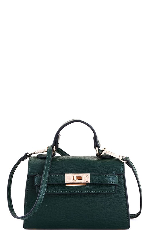 Carolyn Green Mini Satchel Bag