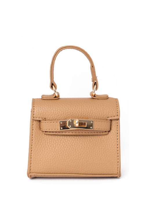 Carro Nude Mini Satchel Bag