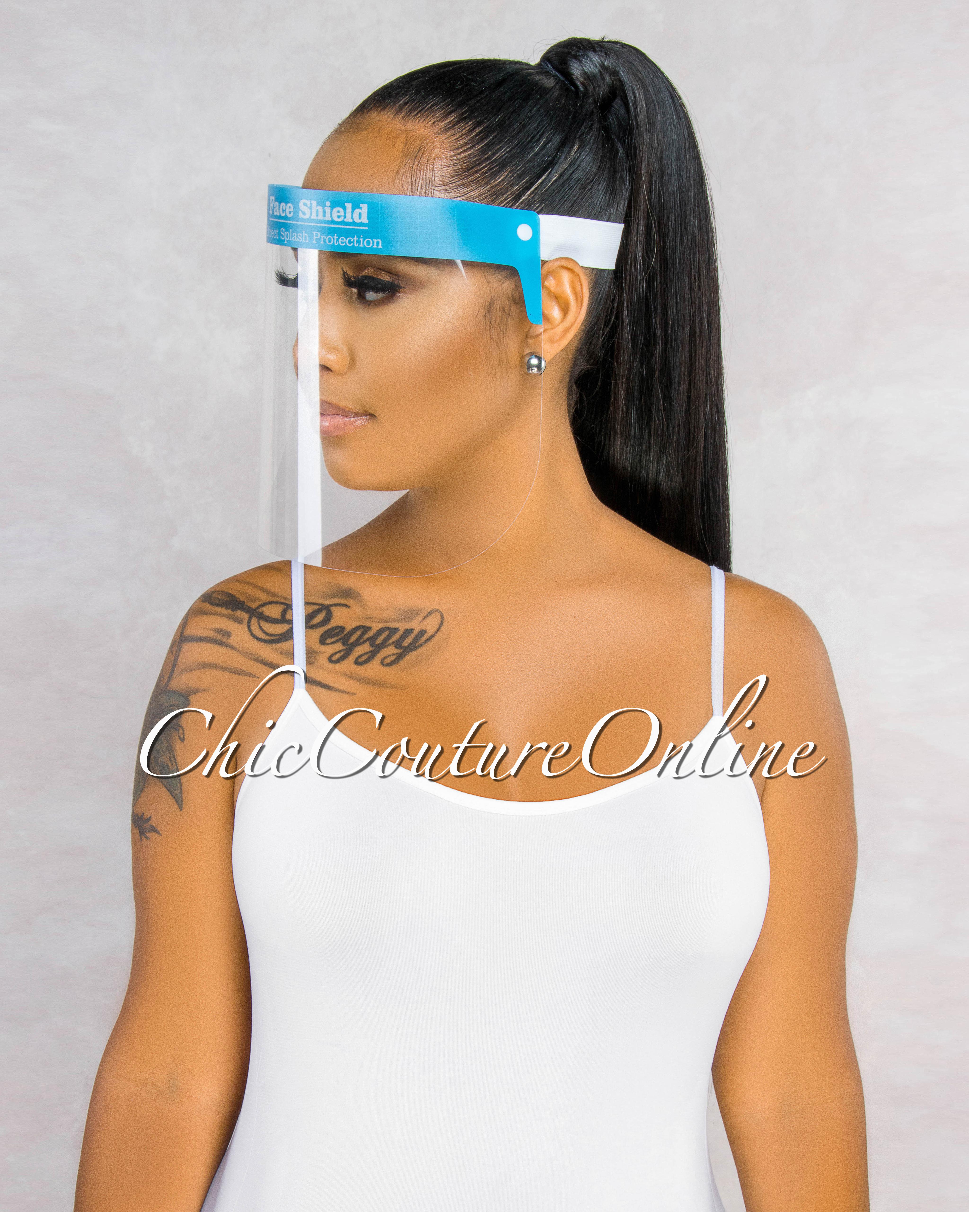 Tovila Blue Face Protective Shield