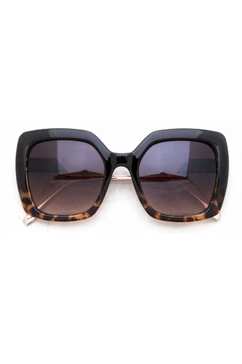 Medona Tortoise Square Sunglasses