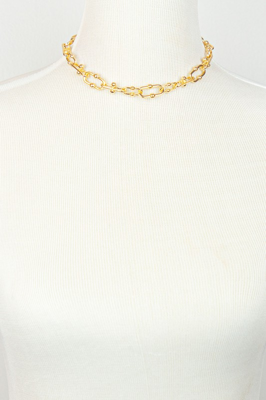 Massy Gold Chunky Chain Necklace