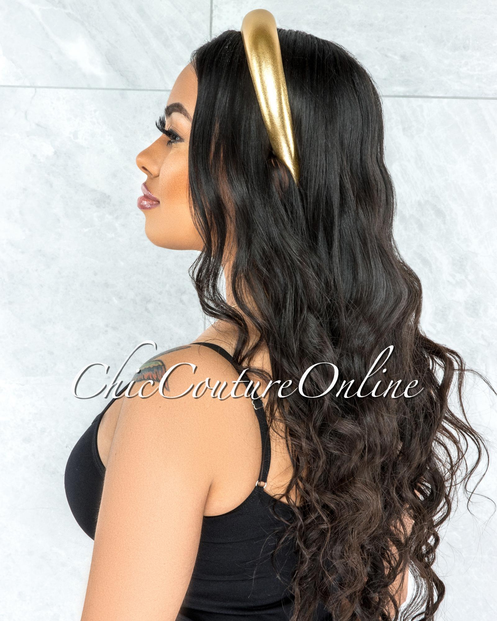 Gina Gold Dome Headband