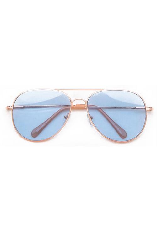 Pedro Blue Aviator Sunglasses