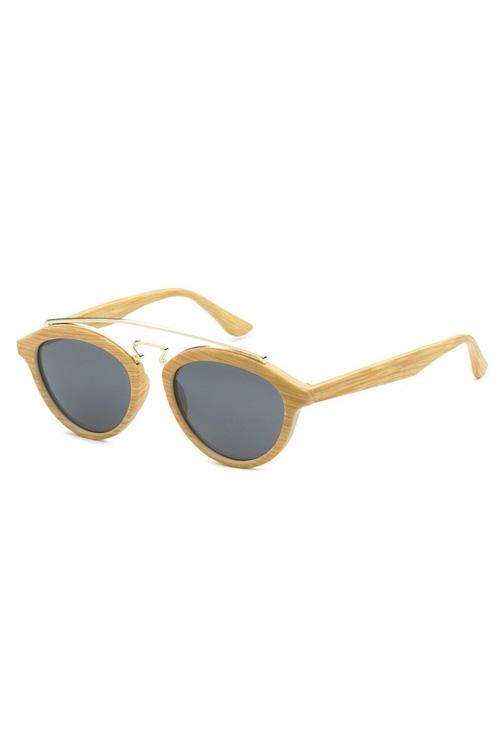 TBAR Natural Wood Like Lens Sunglasses
