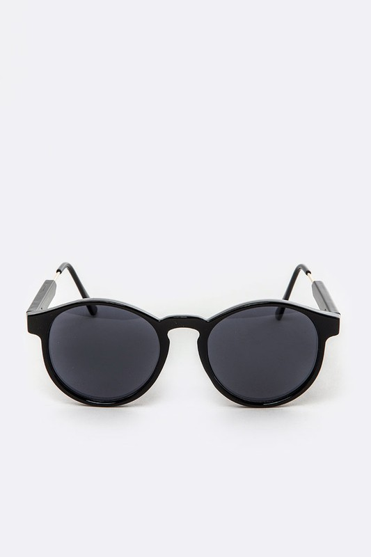 Rolly Black White Sunglasses