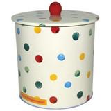 Polka Dot Biscuit Barrel