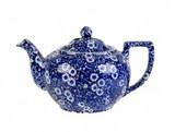 Blue Calico Teapot  Small