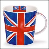 Bone China Dunoon Cairngorm Union Jack mug