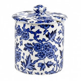 Blue Arden Covered Jam/Sugar Pot