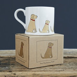 Yellow Labrador Mug Boxed