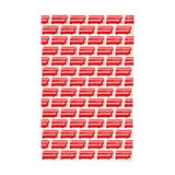 London Bus repeat tea towel in red from Victoria Eggs.