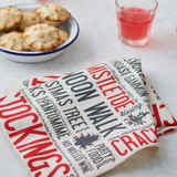 Festive Fun 100% cotton napkin from Victoria Eggs.