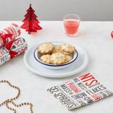 Festive Fun 100% cotton napkin from Victoria Eggs.