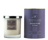 Pomegranate & Pear glass candle from Marmalade of London.