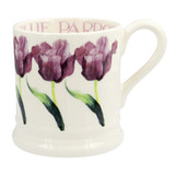 Blue Parrot Tulip 1/2 pint mug from Emma Bridgewater. Made in England.