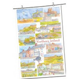 Northern Ireland 100% cotton tea towel from Emma Ball.