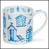 Fine bone china Dunoon Orkney Life's a Beach mug.